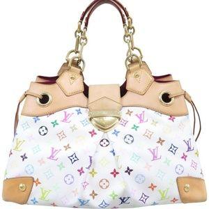 💯Auth Louis Vuitton Ursula Multicolore ShouldrBag